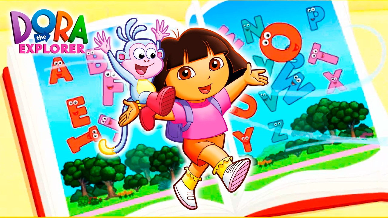 Dora The Explorer Dora S Alphabet Forest Adventure Game