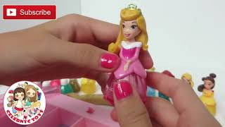 Disney Princess Makeup Set Little Kingdom Collection Sparkle Nail Polish Hair Mascara Lip Gloss
