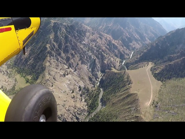 Soldier Bar Idaho Flying