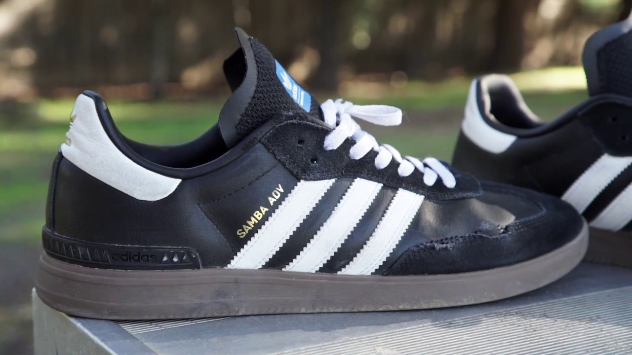 adidas samba adv wear test youtube. Black Bedroom Furniture Sets. Home Design Ideas