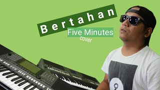 Download lagu Bertahan - Five Minutes,cover with yamaha psr s770 #bertahan #fiveminutes