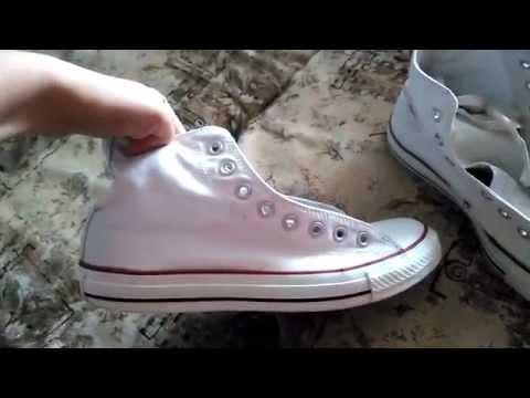 Стираю белые кеды Converse: рецепты youtube