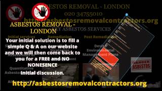 Asbestos Removal London  | Residential Asbestos Removal | Asbestos Survey London