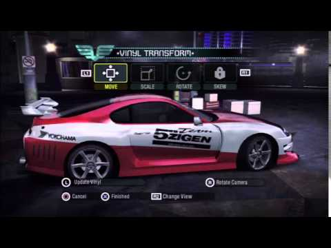 Need for Speed Carbon: Toyota Supra Customization