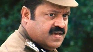 Bharat Chandra Action Scenes - Bharat Chandra Fire On Malakpet MLA - Suresh Gopi, Shreya Reddy