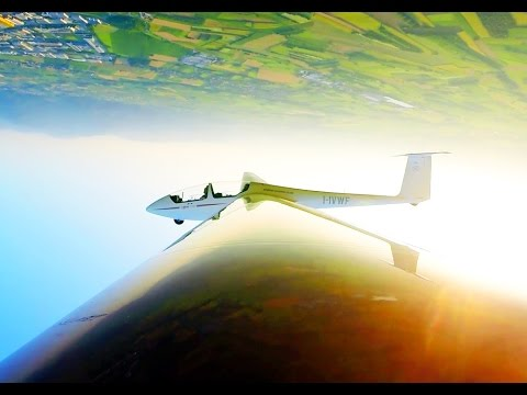 Acrobatic Gliding with Red Bull World Champion Luca Bertossio