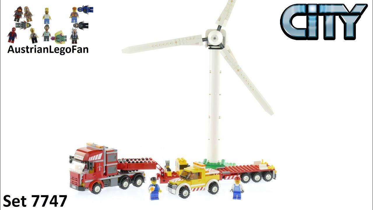 Lego City 7747 Wind Turbine Transport - Lego Speed Build Review