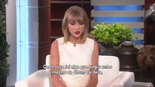 Legendado: Taylor Swift fala sobre o 1989 | The Ellen Show