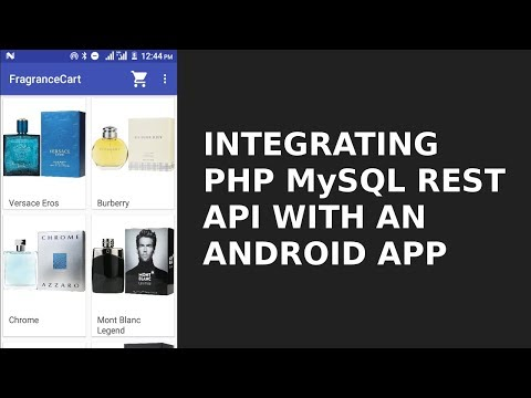 INTEGRATING PHP MYSQL REST API WITH AN ANDROID APP