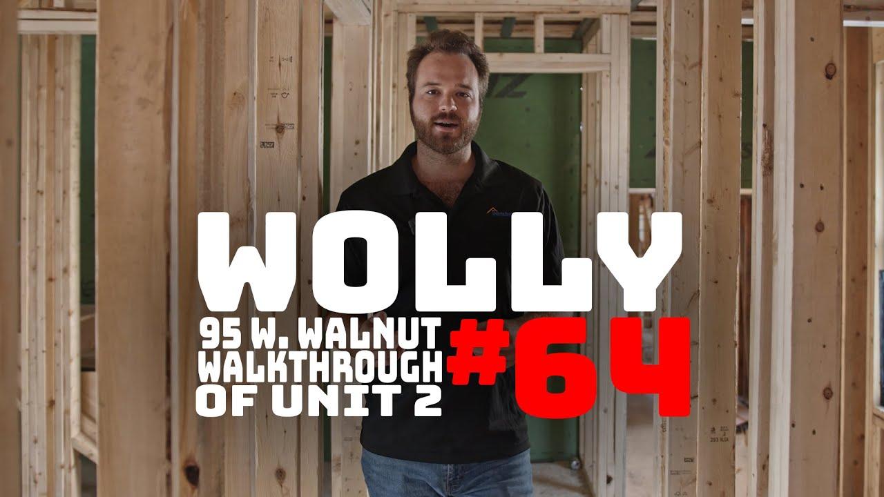 WOLLASTON WEDNESDAY #64: Unit 2 Walkthrough over at West Walnut Park!