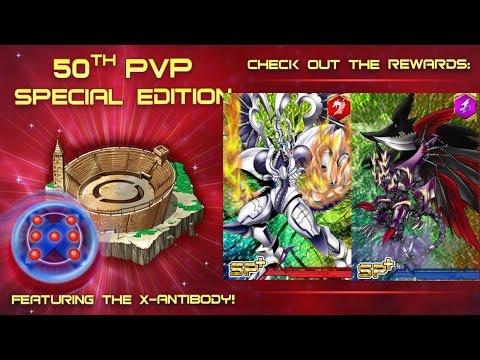 Digimon Heroes   X-ANTIBODY! PvP Event 50th Anniversary!