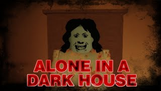 Burning My Way To Freedom | ROBLOX | Alone In A Dark House