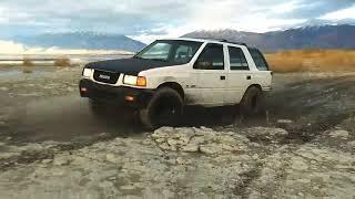 1995 Isuzu Rodeo 4WD Offroading in Utah