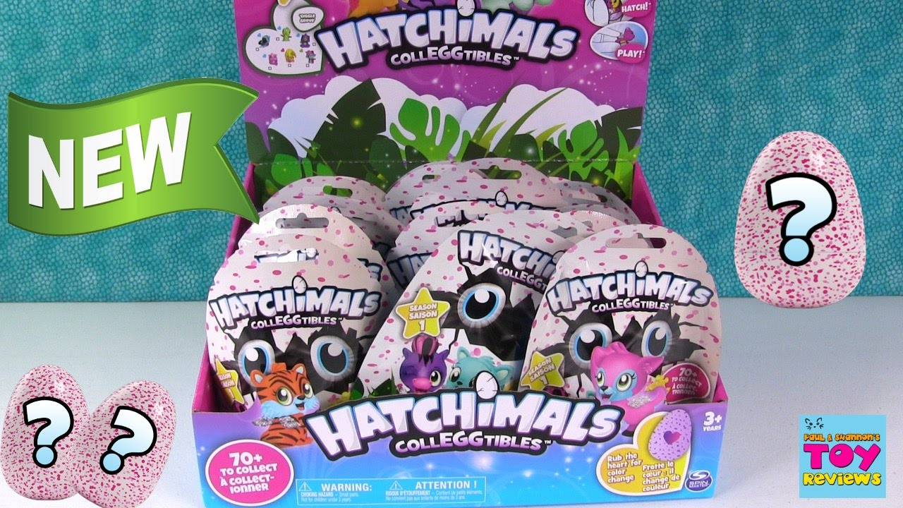 Hatchimals Colleggtibles Blind Bag Full Box Toy Opening