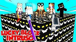 LUCKY BLOCK GIGANTI DELL'INTRUSO SU MINECRAFT!!!