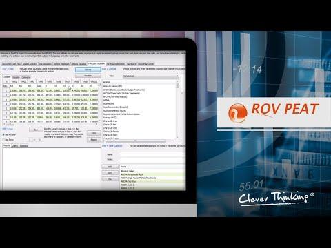 PEAT Video 10- Forecasting Analysis