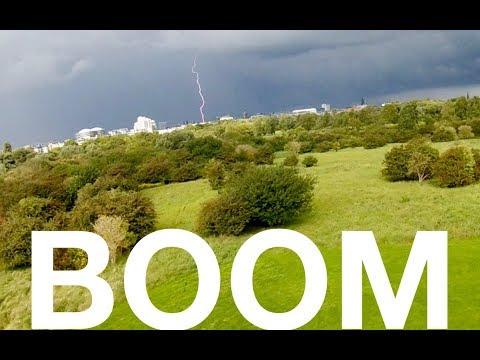 Thunder and Lightning in Copenhagen - FPV Racing Drone