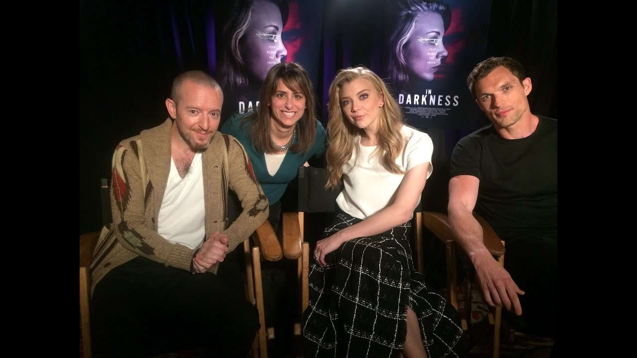 IN DARKNESS Movie Interviews Natalie Dormer (Game of Thrones), Ed Skrein (Deadpool), Anthony Byrne