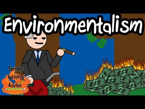 ENVIRONMENTALISM - Terrible Writing Advice
