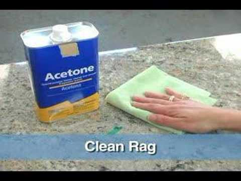 how to clean a granite countertop youtube. Black Bedroom Furniture Sets. Home Design Ideas