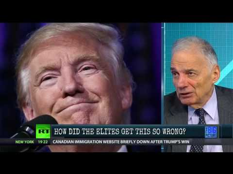 "Ralph Nader, ""This Could Be The Most Serious Event In History"""