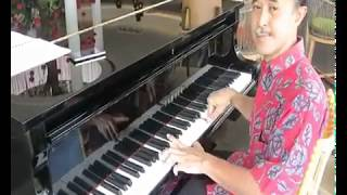 """Merpatih Putih"" (Badai Pasti Berlalu) - just learn how to play it on Piano"