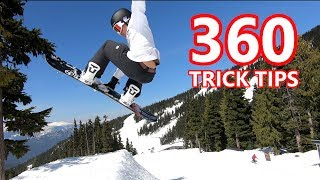 360 Backside Session - Snowboard Trick Tips
