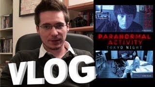 Vlog - Paranormal Activity Tokyo Night