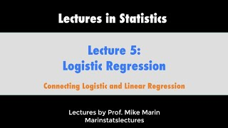 5.3 Logistic Regression: What Is It? (Logistic Regression Explained Conceptually)