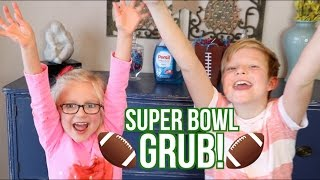 GAME DAY SNACK CHALLENGE! | Kids Compete