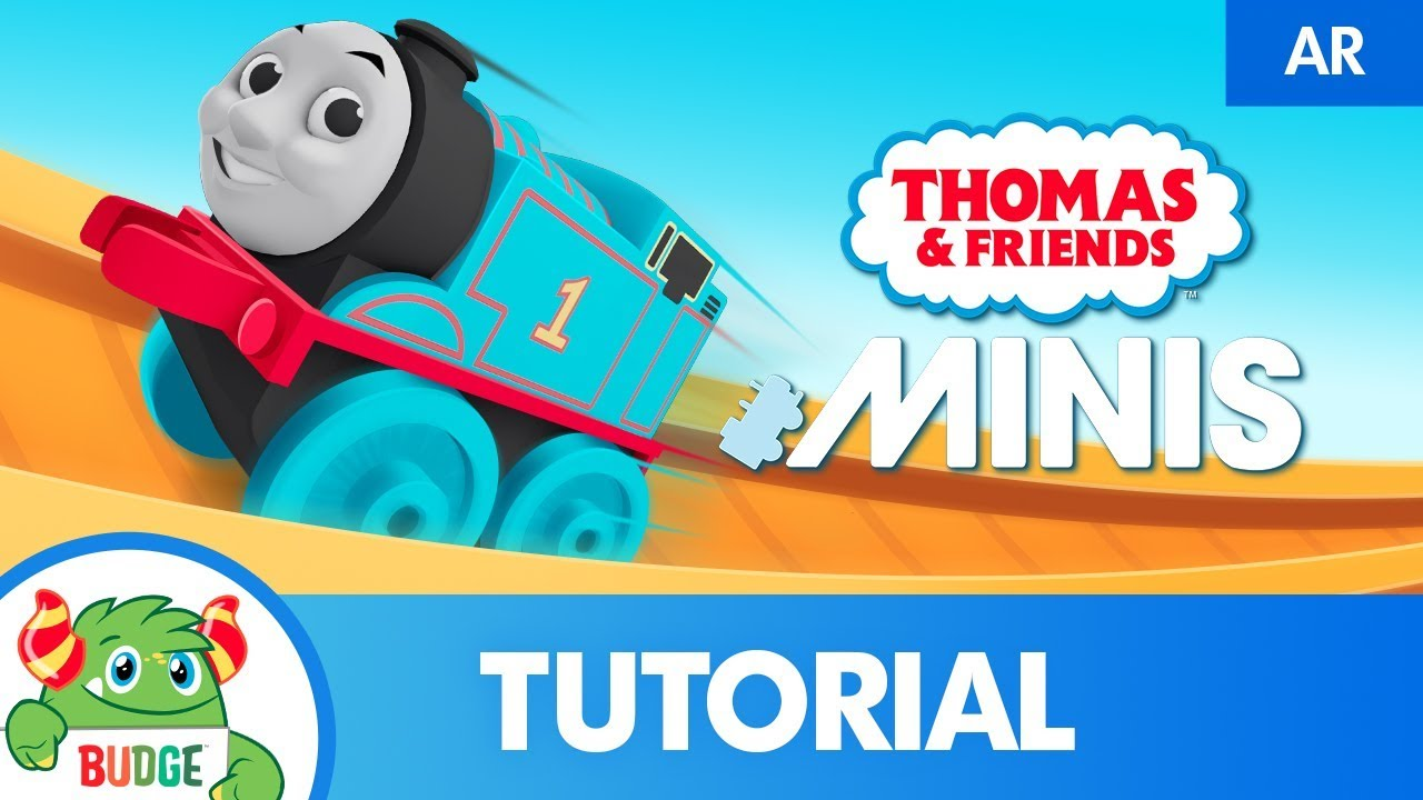 AR on Google and Android devices: demo with Thomas & Friends Minis with Augmented reality