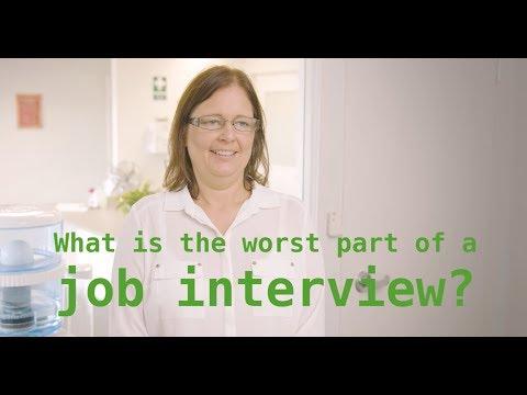 Worst Part of a Job Interview