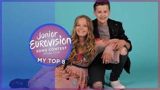 Junior Eurovision 2018 | My Top 8 [so far] 🇦🇱 🇳🇱