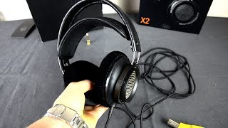 Philips X2 Fidelio Over Ear Headphones SPL dB sound test + review