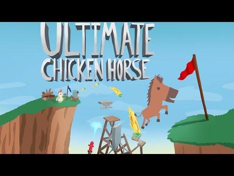 Вечерние посиделки с друзьями :) - ULTIMATE CHICKEN HORSE
