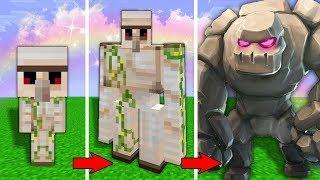 Как менялся Железный Голем и его жизненный цикл в майнкрафт!