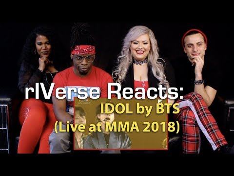rIVerse Reacts: IDOL by BTS - MMA 2018  Performance Reaction