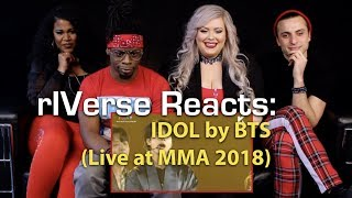 rIVerse Reacts: IDOL by BTS - MMA 2018 (Live Performance) Reaction