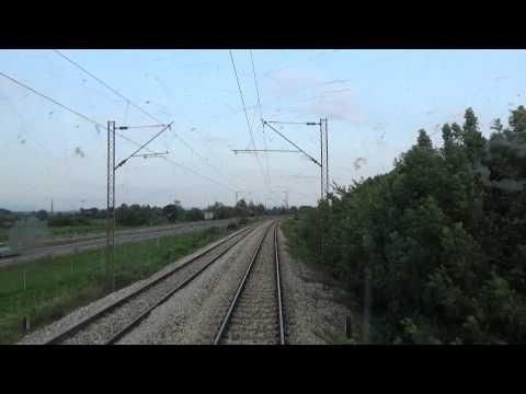 Train Driver's view: railroad in Serbia from Bagrdan to Jagodina 1/2 - SERBIAN RAILWAYS