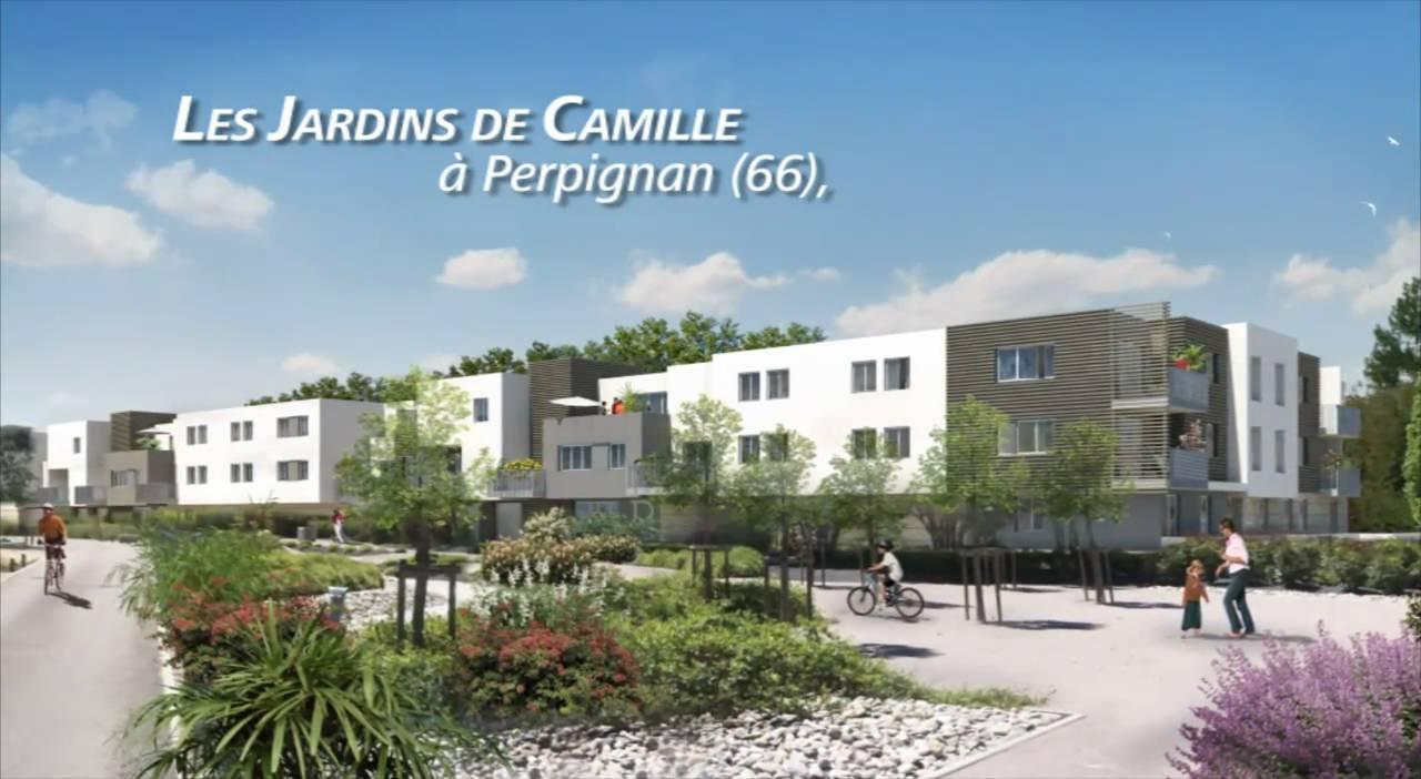 Appartement neuf perpignan 66 jardins de camille youtube - Jardin ville de quebec perpignan ...