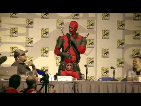 Deadpool Does San Diego Comic-Con