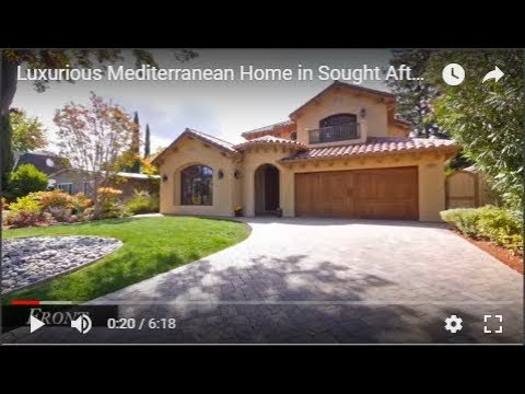 Luxurious Mediterranean Home in Sought After Palo Alto Midtown