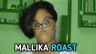 MALLIKA ROASTED ||FAKE FEMINISM||