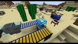 How to build a snowman - Modded Minecraft Rube Goldberg