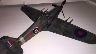 Building Fly Models' Tricky But Rewarding Hurricane Mk.IIc in 1:32
