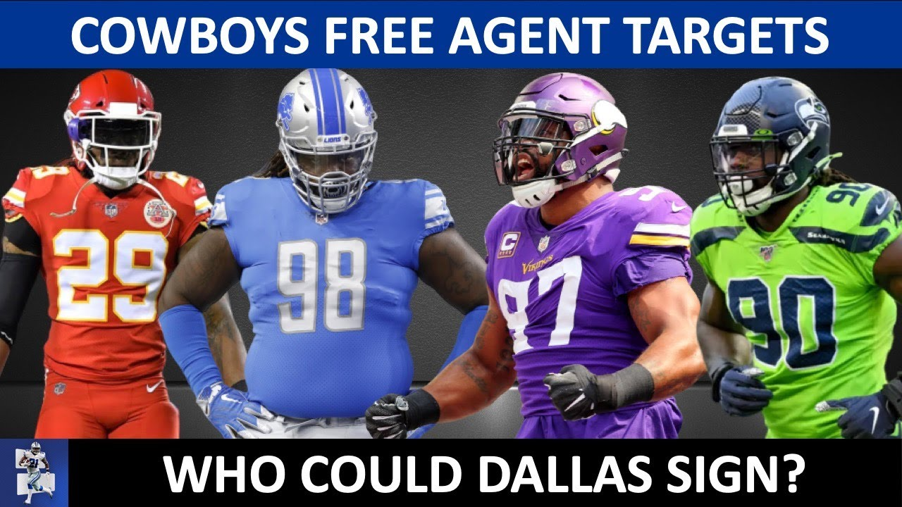 Cowboys Free Agent Targets Before Training Camp Ft. Jadeveon Clowney, Dez Bryant & Everson Griffen