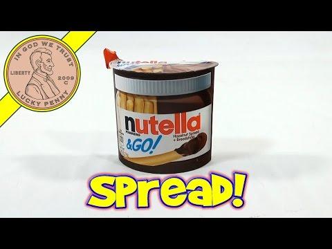 Nutella To Go - Hazelnut Spread & Breadsticks, Ferrero