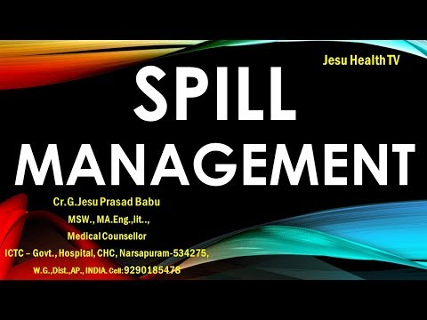 Spill Management || blood/body fluid large spill management || NQAS