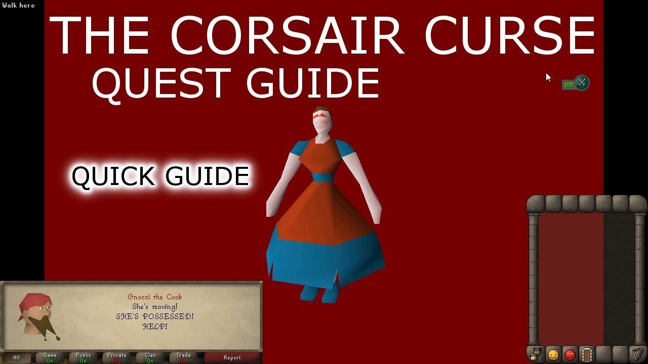 [OSRS] Corsair Curse Quest QUICK Guide
