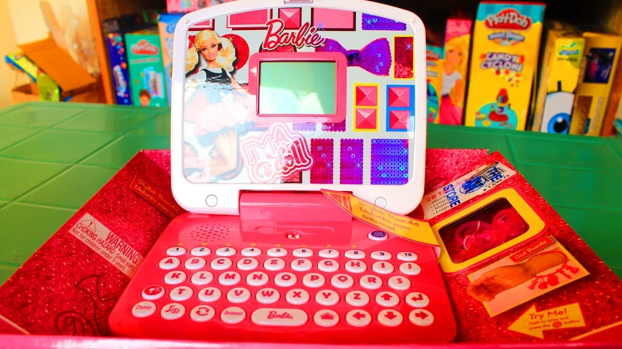 Barbie Little Learner I M A Doll Laptop Toy Learning